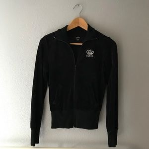 GUESS Velour Track Jacket